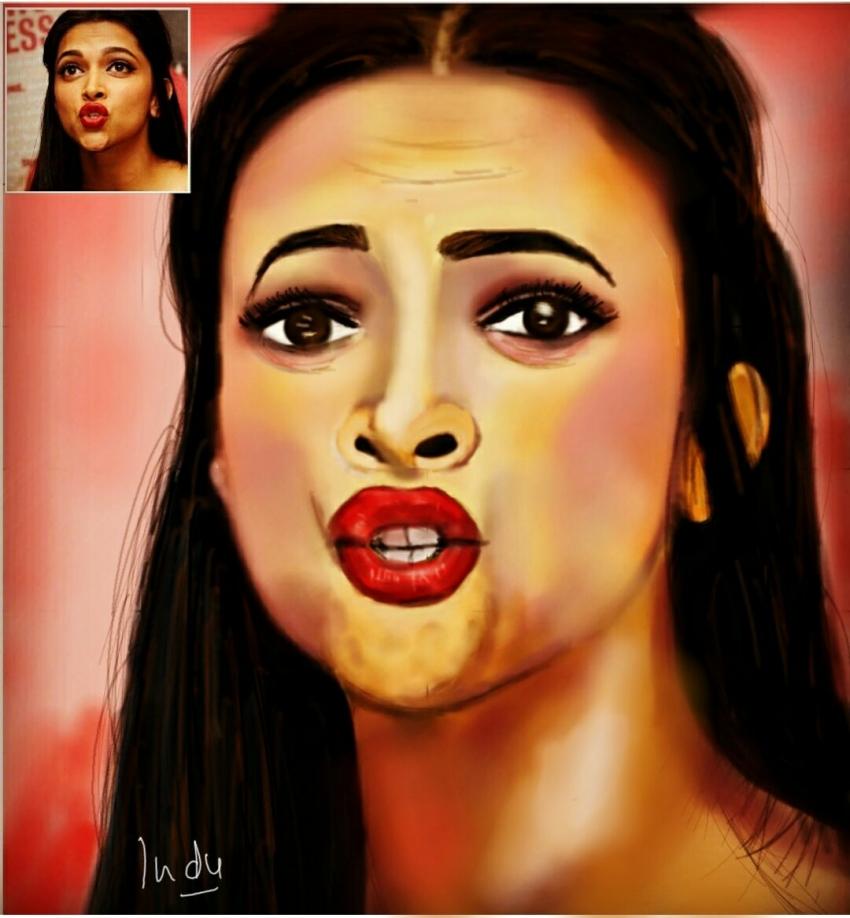 Deepika Padukone by CHHAYANKANArts